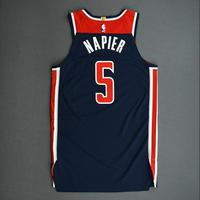 Shabazz Napier - Washington Wizards - Game-Worn Statement Edition Jersey - 2019-20 NBA Season