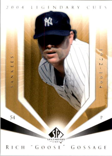 Photo of 2004 SP Legendary Cuts #95 Rich Gossage