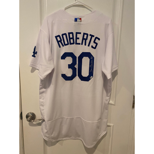 Dave Roberts Authentic Autographed Los Angeles Dodgers Jersey