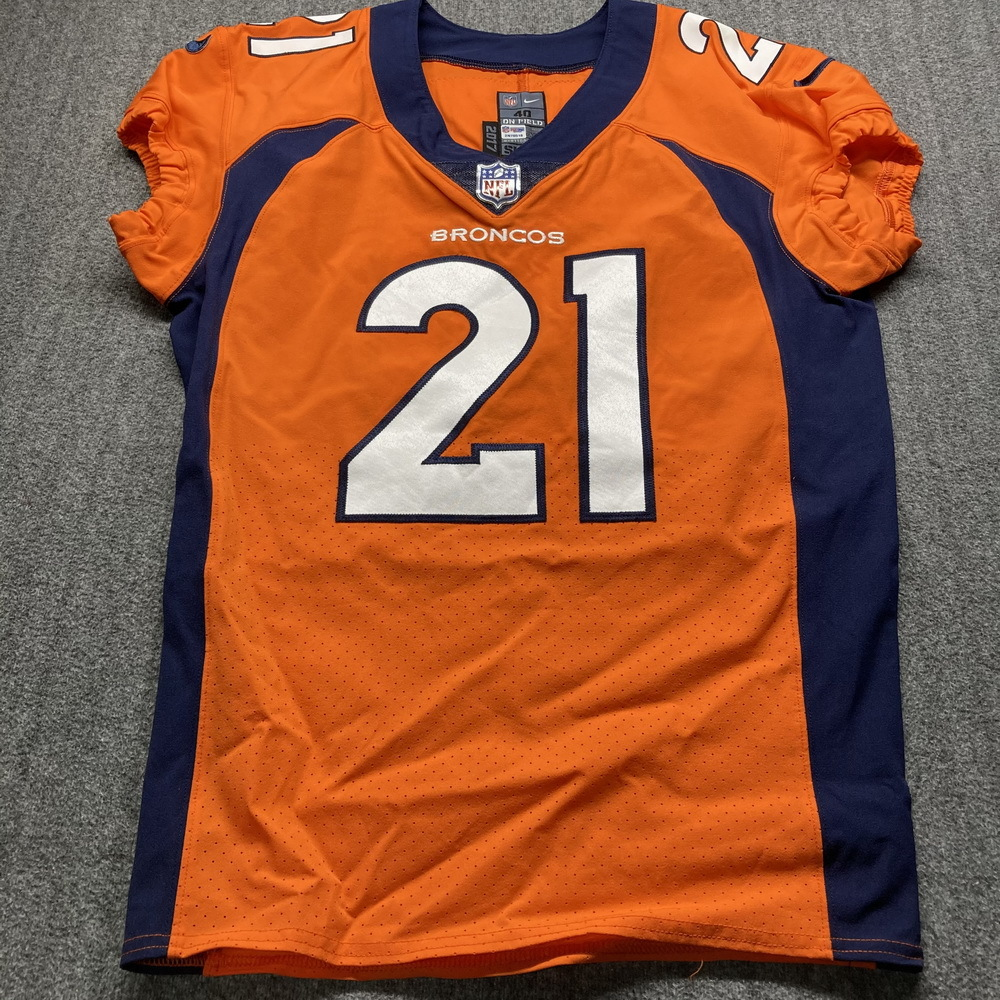 STS - Broncos AJ Bouye Game Used Jersey (11/22/20) Size 40