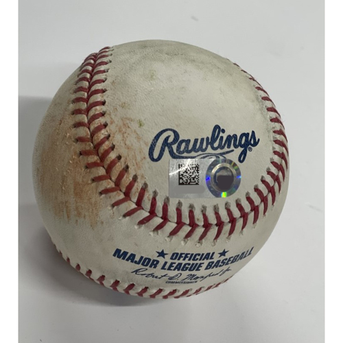 Photo of Mystery Game-Used Baseball from 2021 Season