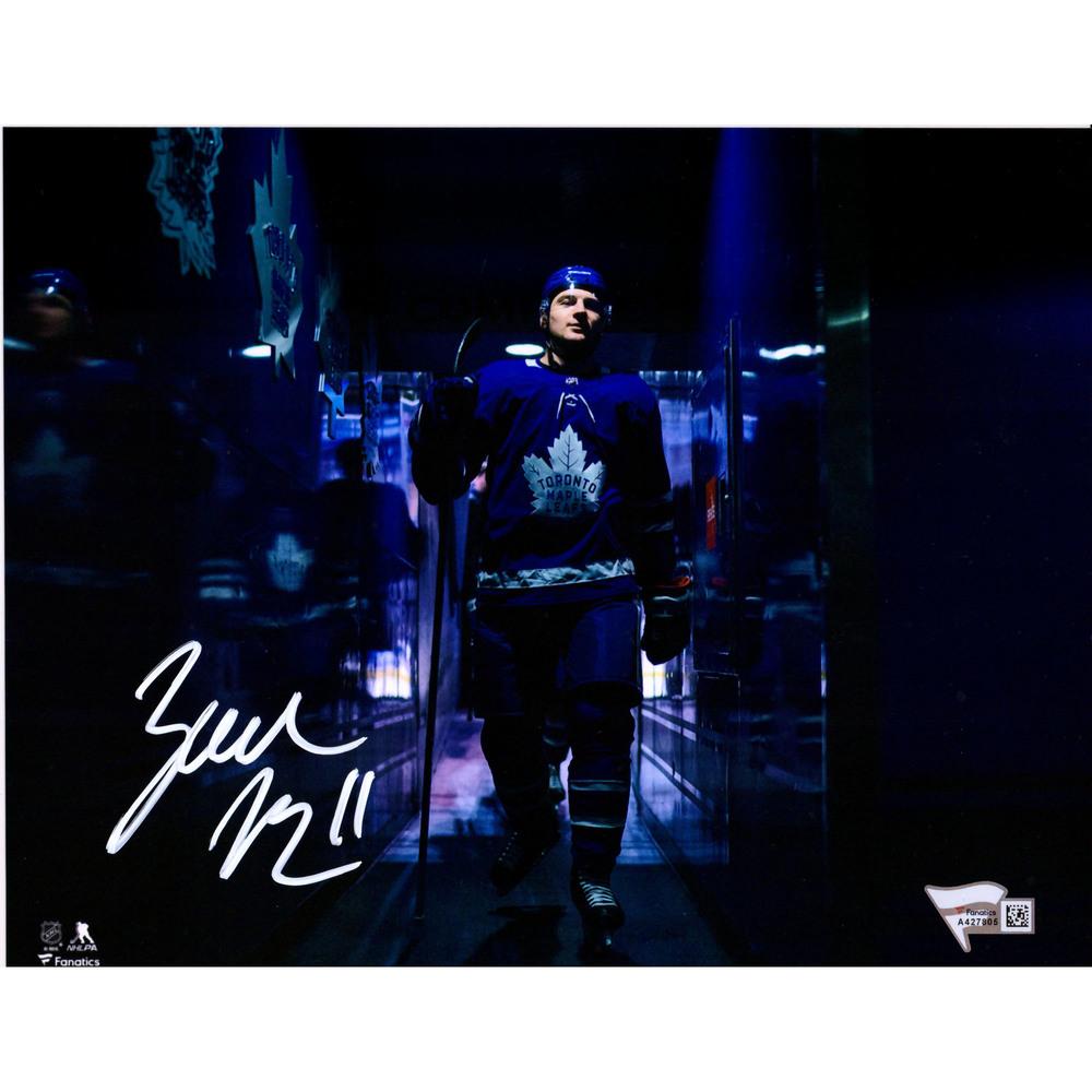 Zach Hyman Toronto Maple Leafs Autographed 8