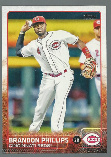 Photo of 2015 Topps #266 Brandon Phillips