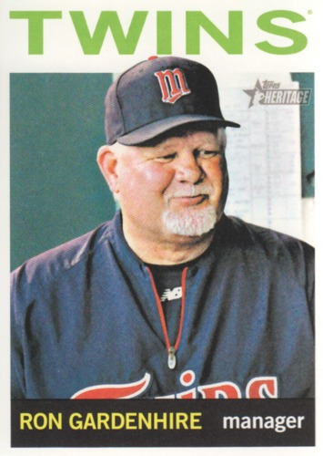 Photo of 2013 Topps Heritage #54 Ron Gardenhire