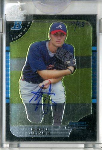 Photo of 2006 Bowman Originals Buyback Autographs #95 Beau Jones 05 BDP/576 F