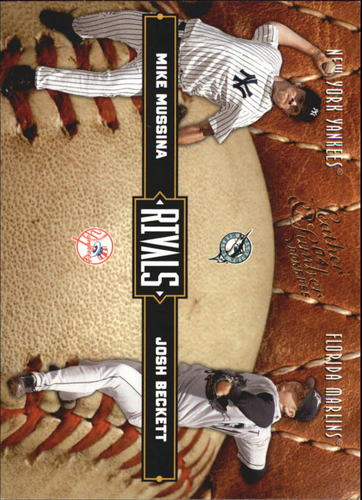 Photo of 2004 Leather and Lumber Rivals #30 M.Mussina/J.Beckett
