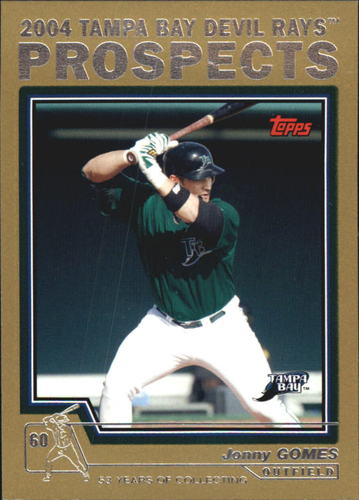 Photo of 2004 Topps Traded Gold #T93 Jonny Gomes PROS