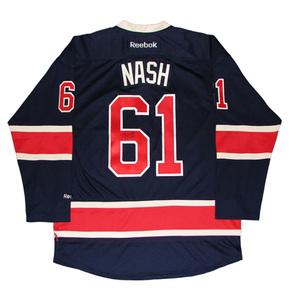 RICK NASH Signed New York Rangers Blue Alternate Reebok Jersey RICK NASH  Signed New York Rangers Blue Alternate Reebok Jersey 010949e11