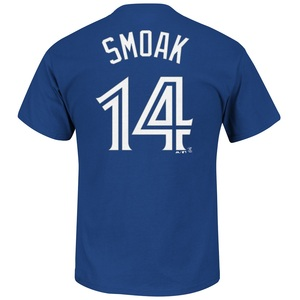 Toronto Blue Jays Justin Smoak Player T-Shirt by Majestic