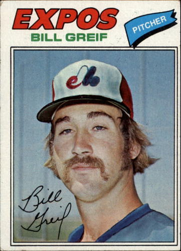 Photo of 1977 Topps #112 Bill Greif