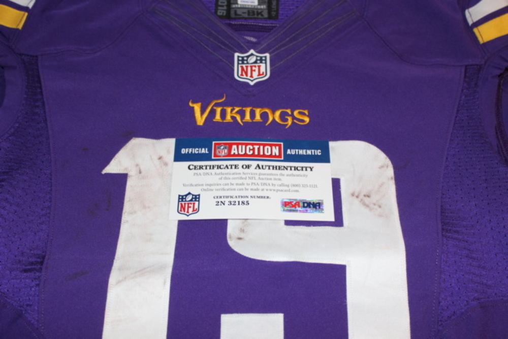 buy popular 66c56 f7745 NFL Auction | STS - VIKINGS ADAM THIELEN GAME WORN VIKINGS ...