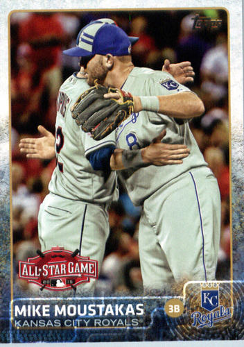 Photo of 2015 Topps Update #US139 Mike Moustakas