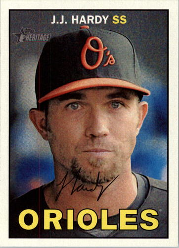 Photo of 2016 Topps Heritage #212 J.J. Hardy