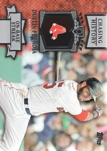 Photo of 2013 Topps Chasing History #CH133 Dustin Pedroia