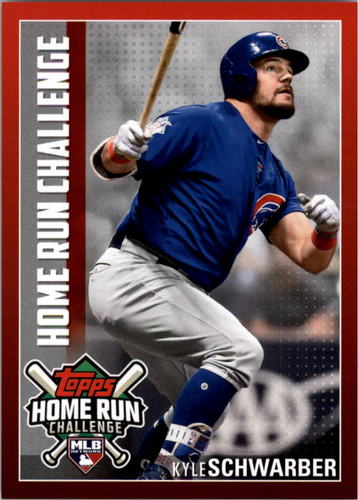 Photo of 2019 Topps Home Run Challenge #HRC31 Kyle Schwarber