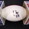 NFL - RAMS JUSTIN LAWLER SIGNED PANEL BALL