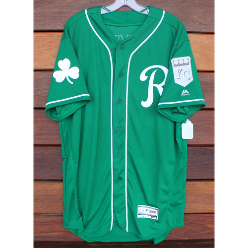 Team-Issued St. Patrick's Day Jersey: Heath Fillmyer (Size - 46)