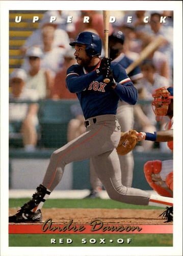 Photo of 1993 Upper Deck #777 Andre Dawson
