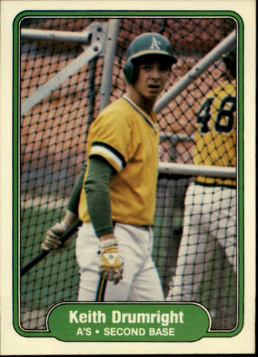 Photo of 1982 Fleer #89 Keith Drumwright
