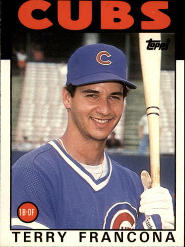 Photo of 1986 Topps Traded #38T Terry Francona