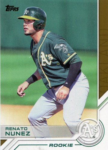 Photo of 2017 Topps Salute #S188 Renato Nunez