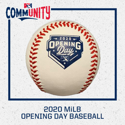 Photo of Limited Edition 2020 MiLB Opening Day Baseball