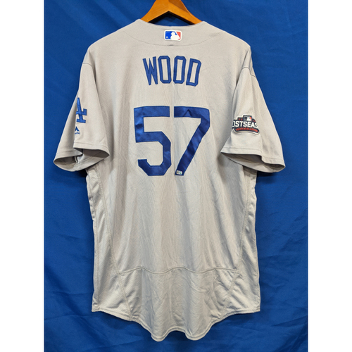 Photo of Alex Wood 2016 Postseason Team Issued Road Jersey