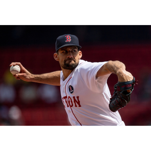 Photo of Red Sox Foundation Patriots' Day - Nathan Eovaldi Authenticated Game-Used Jersey