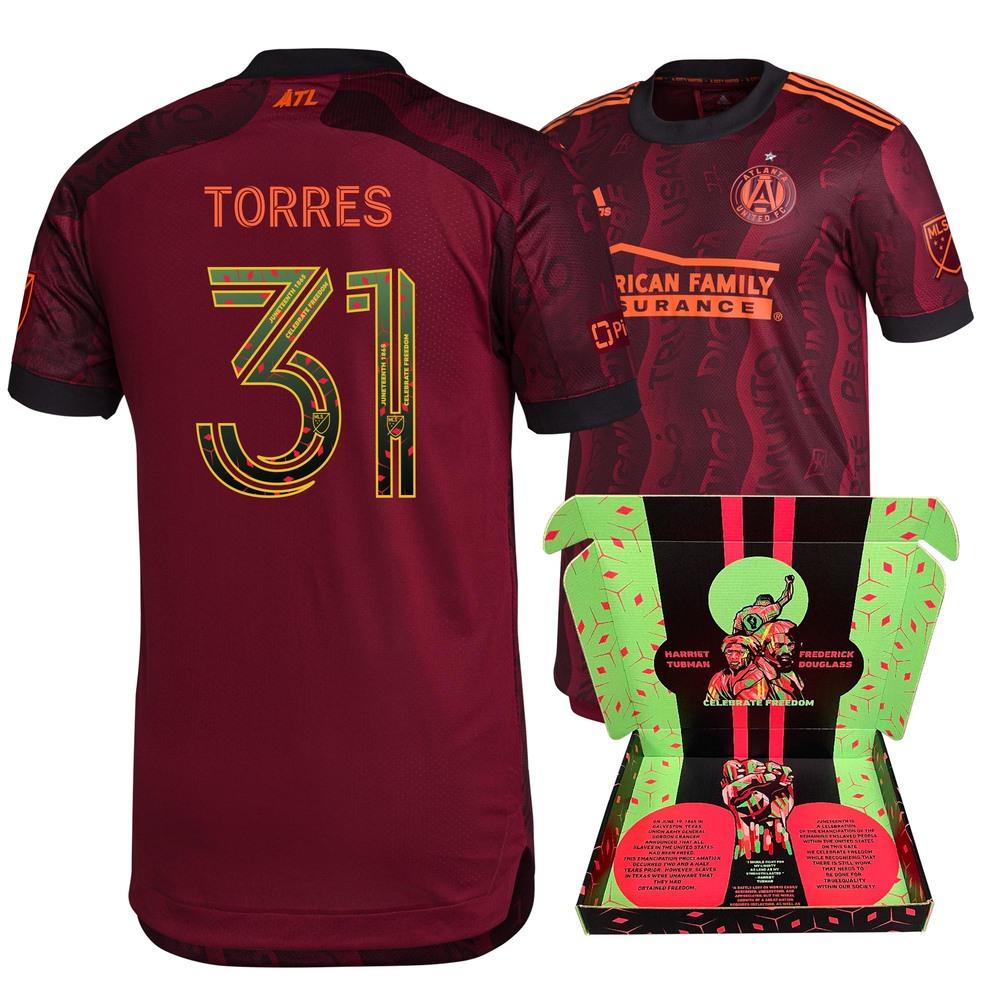 Erick Torres Atlanta United FC Match-Used & Signed