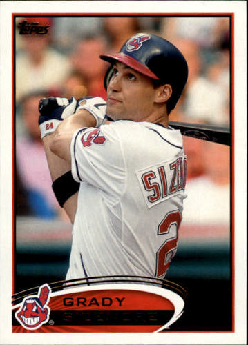 Photo of 2012 Topps #96 Grady Sizemore