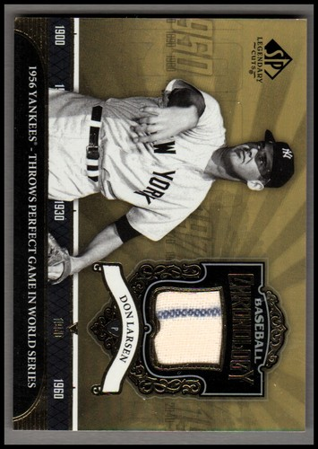 Photo of 2006 SP Legendary Cuts Baseball Chronology Materials #DL Don Larsen Pants
