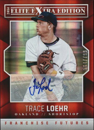 Photo of 2014 Elite Extra Edition Franchise Futures Signatures #38 Trace Loehr/799