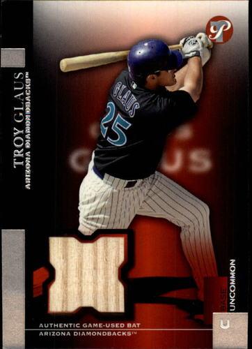 Photo of 2005 Topps Pristine #138 Troy Glaus Bat