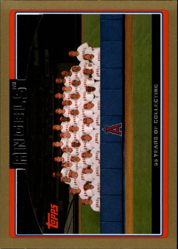 Photo of 2006 Topps Gold #280 Los Angeles Angels TC