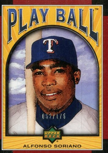 Photo of 2004 Upper Deck Play Ball Parallel 175 #17 Alfonso Soriano