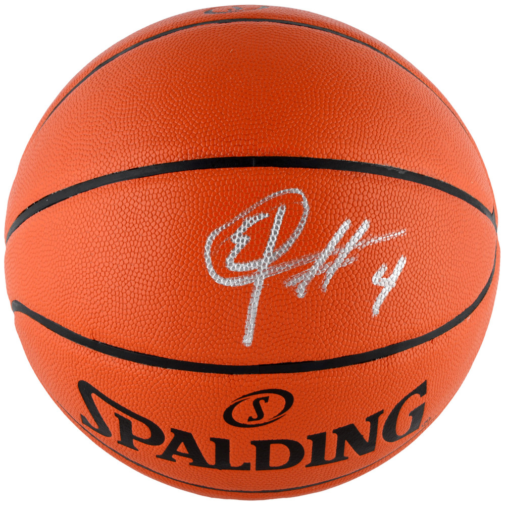 Elfrid Payton Orlando Magic Autographed Indoor/Outdoor Basketball