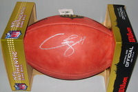 NFL - PATRIOTS CODY HOLLISTER SIGNED AUTHENTIC FOOTBALL