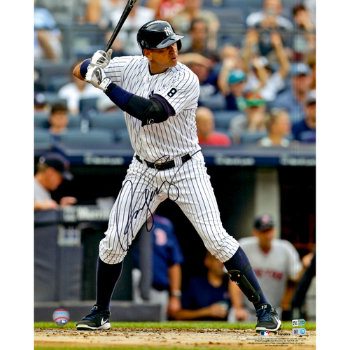 "Photo of Alex Rodriguez New York Yankees Autographed 16"" x 20""  Hitting Photograph"