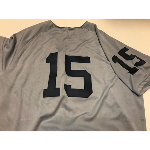 Photo of Team-Issued 1968 World Series 50th Anniversary Jersey: Ron Gardenhire
