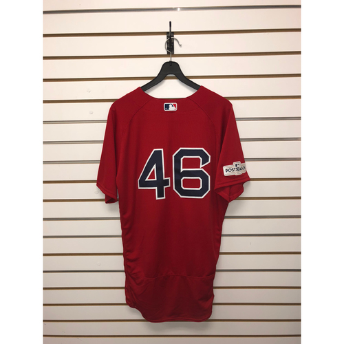 Photo of Craig Kimbrel Team-Issued 2017 Home Alternate Jersey