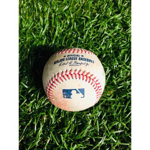 Game Used Baseball: Ryne Stanek strikes out Cody Bellinger - May 22, 2019 v LAD
