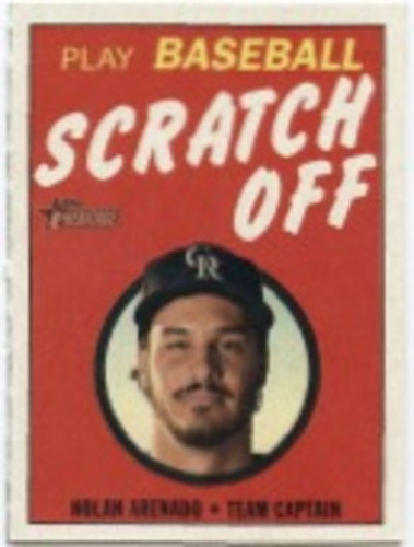 Photo of 2019 Topps Heritage '70 Topps Scratch Offs #25 Nolan Arenado