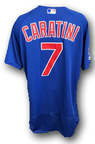 Photo of Victor Caratini Game-Used Jersey -- Cubs at Cardinals -- 9/29/19 -- Size 46