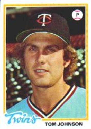 Photo of 1978 Topps #54 Tom Johnson