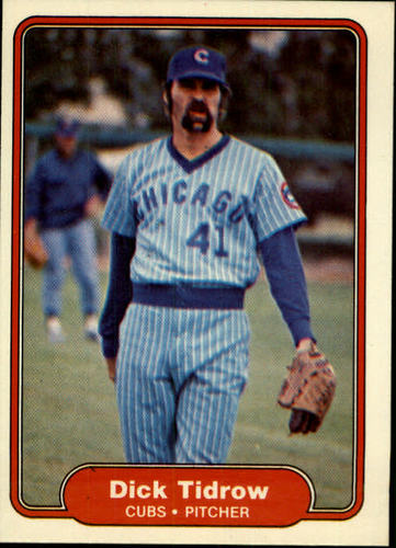 Photo of 1982 Fleer #604 Dick Tidrow