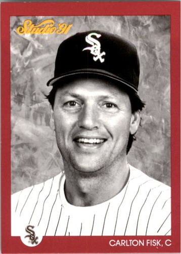 Photo of 1991 Studio #32 Carlton Fisk