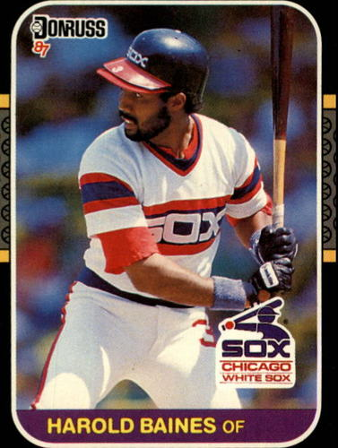 Photo of 1987 Donruss #429 Harold Baines