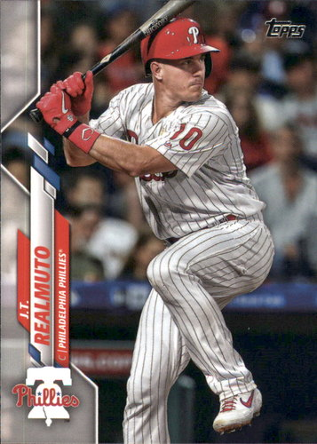 Photo of 2020 Topps #220 J.T. Realmuto