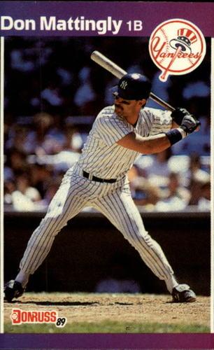 Photo of 1989 Donruss #74 Don Mattingly