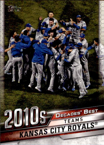 Photo of 2020 Topps Decades' Best #DB90 Kansas City Royals